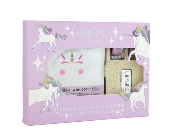 Sparkle Like a Unicorn Nail Kit  - Click to view a larger image