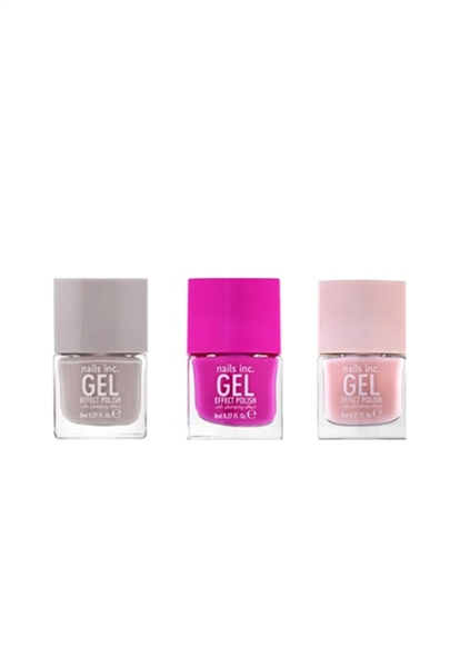 Mini Gel Effect Nail Trio  - Click to view a larger image