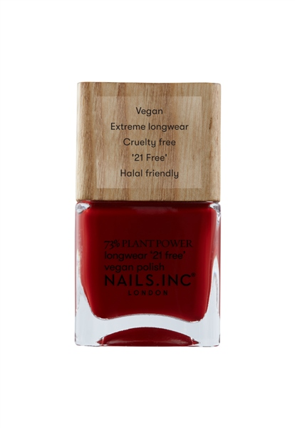 Swear By Salutation Plant Power Vegan Nail Polish  - Click to view a larger image