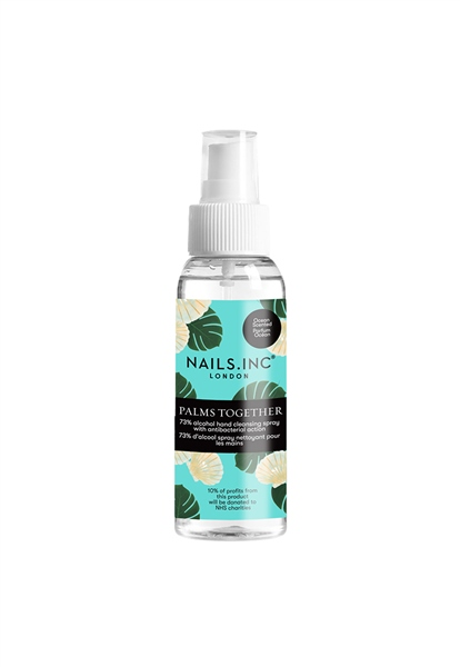 Palms Together Hand Sanitiser Spray Sea Breeze Scent   - Click to view a larger image