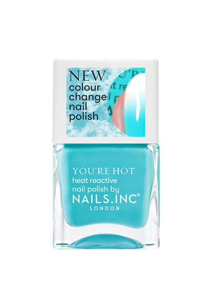 Feel The Hotness Colour changing Nail Polish  - Click to view a larger image