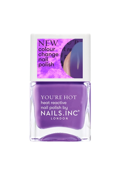 A Hot Minute Colour Changing Nail Polish  - Click to view a larger image