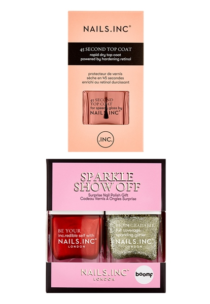 Sparkle Show Off Nail Polish Trio  - Click to view a larger image
