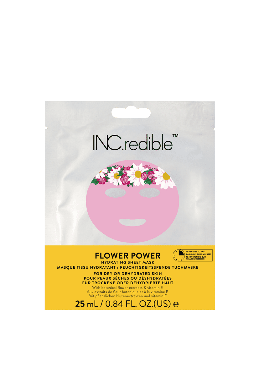 Flower Power Hydrating Face Mask 1