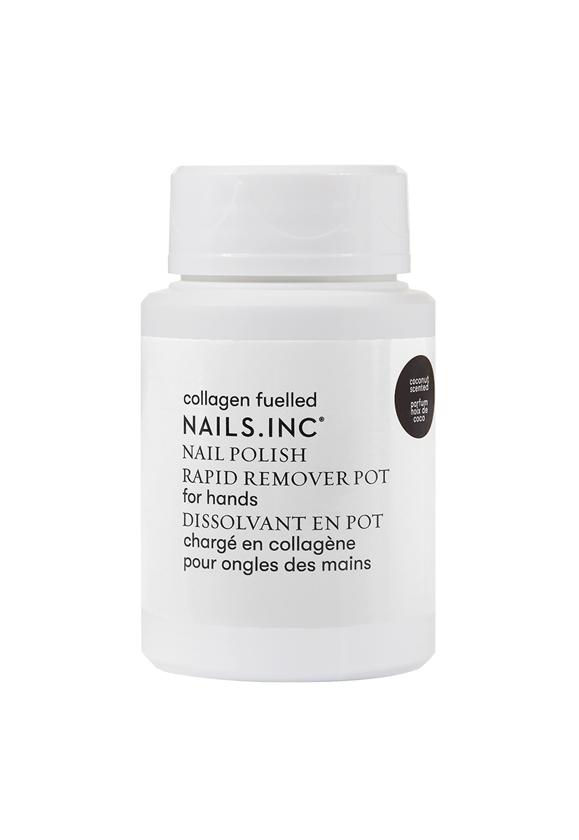 Powered by Collagen Nail Polish Remover 1